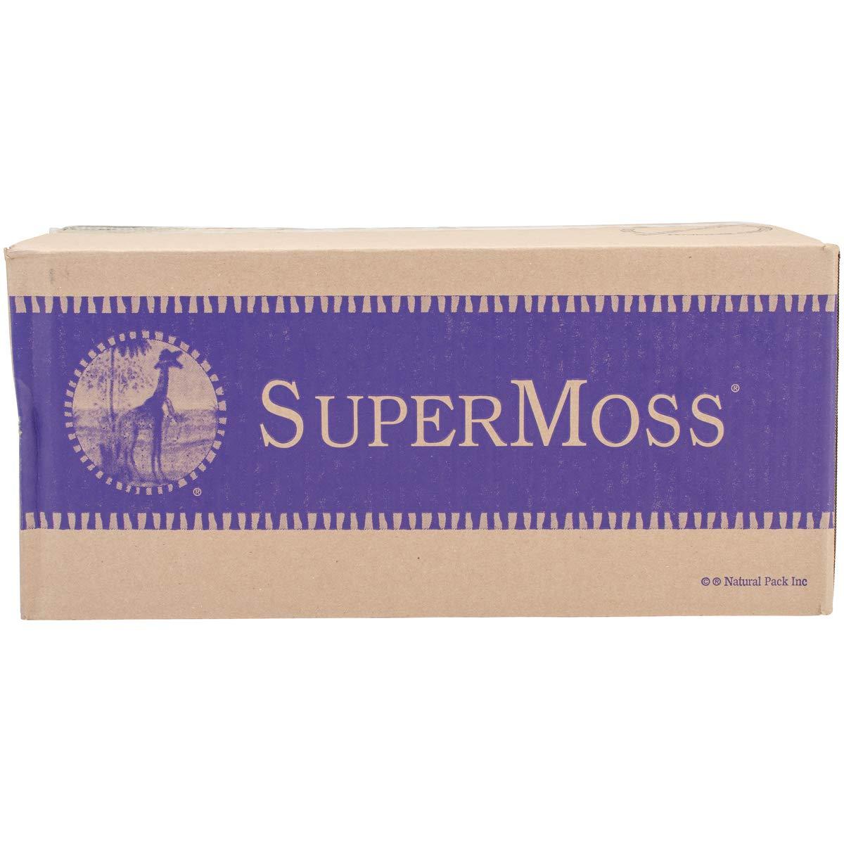 8oz Brown 23092 SuperMoss Reindeer Moss Preserved