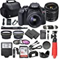 Canon EOS Rebel T6 DSLR Camera Bundle with Canon EF-S 18-55mm f/3.5-5.6 IS II Lens + SanDisk 32GB Memory Card + Accessory Kit