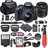 Cheap Canon EOS Rebel T6 DSLR Camera Bundle with Canon EF-S 18-55mm f/3.5-5.6 IS II Lens + SanDisk 32GB Memory Card + Accessory Kit