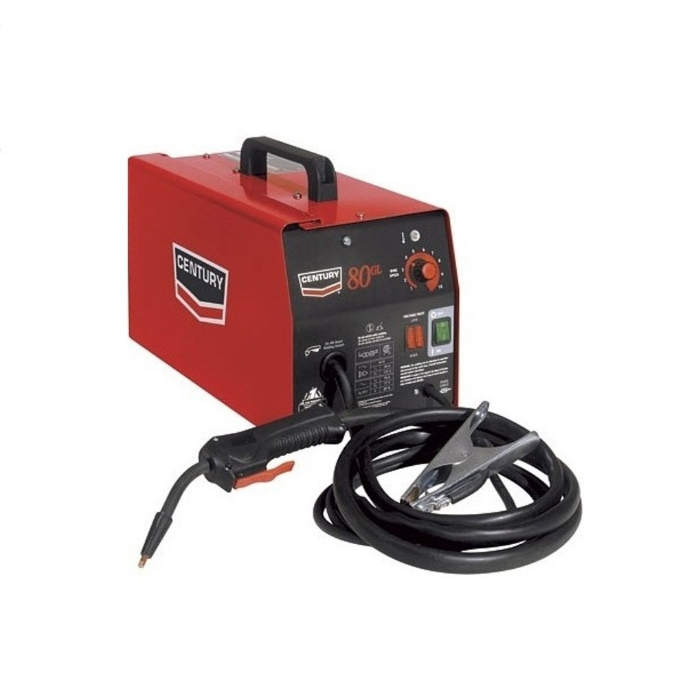 Century 80gl Flux Cored Wire Feed Welder 70 Amps 115v Ac Pack Of Wiring Diagram Along With Plug Further 20 1 Power Tools Industrial Scientific