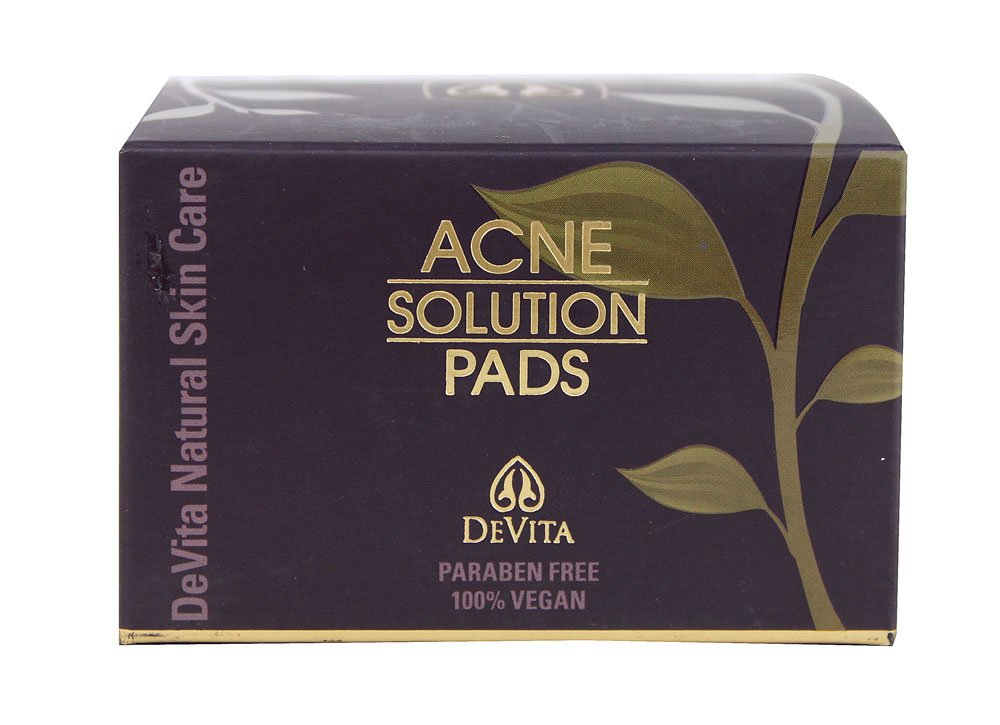Devita Natural Skin Care Acne Solution Pads - 30 count - 2 oz DEVITA INTERNATIONAL INC. DAP
