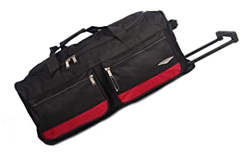 63f447ea62 Tous les sacs 101,6 cm Grand Sac Fourre-tout à roulettes valise bagage