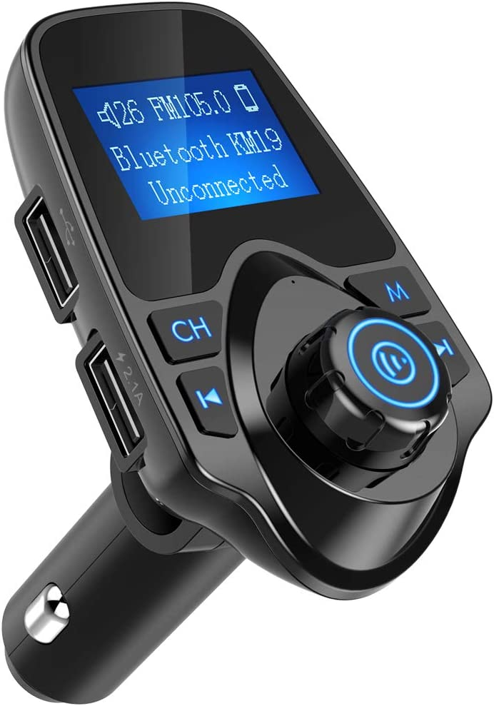GT-09 Stereo Car Player V4.0 Transmisor inal/ámbrico de Audio Negro
