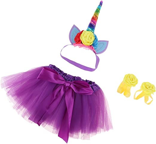 D dolity disfraz de fiesta de cumpleaños de niñas falda Tutu + ...