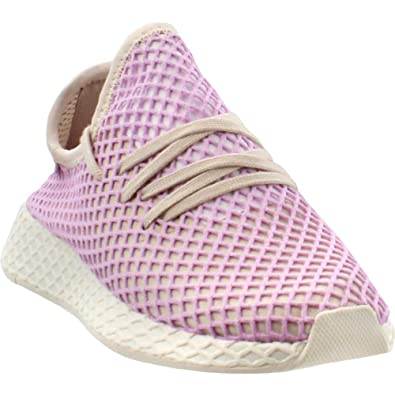 the latest f1dc8 b7ab3 Amazon.com  adidas Originals Deerupt Runner Shoe - Womens Casual Pink   Road Running