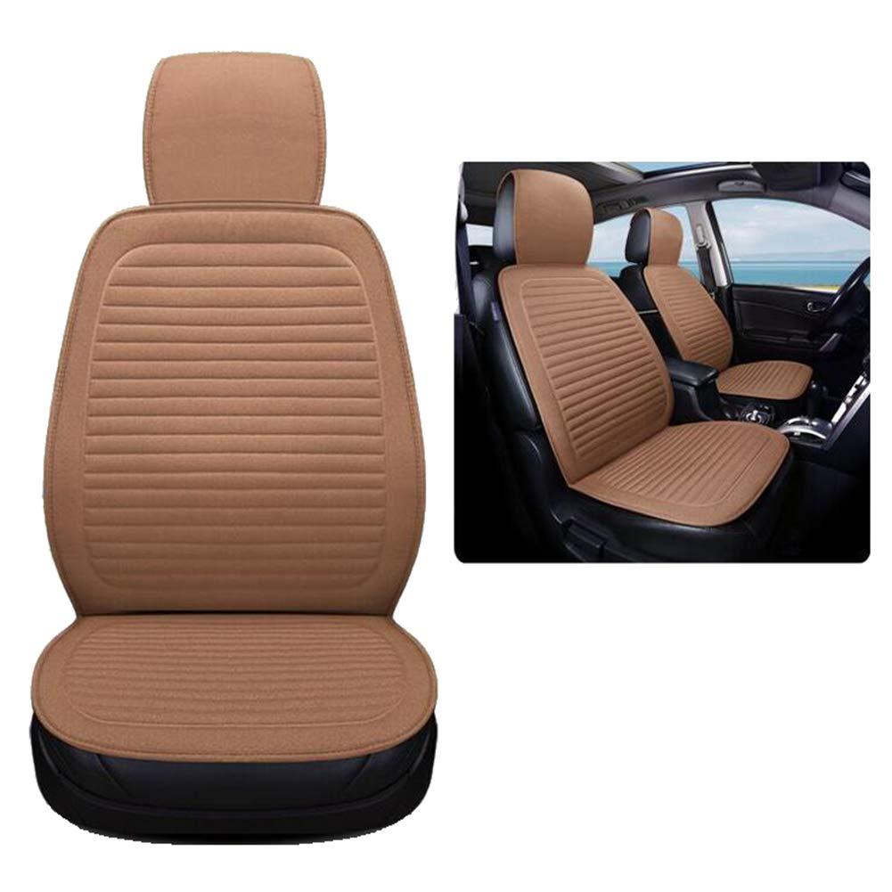 QLL 5 Colores Opcionales Cojín del Asiento de Carro, Cubiertas de Asiento de Carro de los Cascos de alforfón, Amortiguador cómodo Respirable ventilado del ...