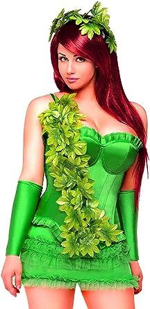 Bloodshot Poison Ivy Laced Robe