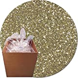 Glitter My World! Craft Glitter: 25lb Box: Champagne