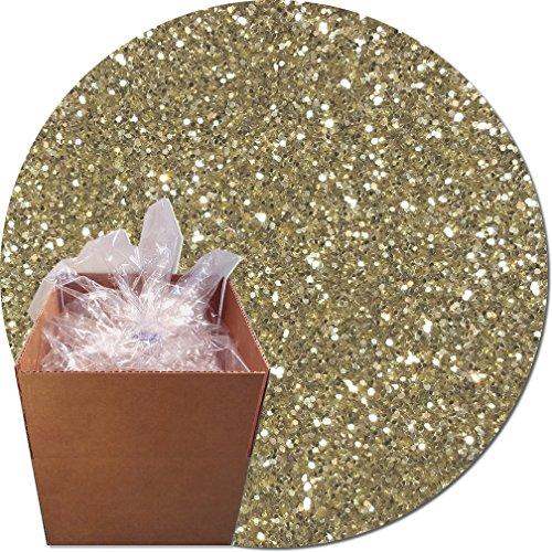 Glitter My World! Craft Glitter: 25lb Box: Champagne by Glitter My World!