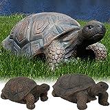 Sunnydaze Tortoise Statue Collection