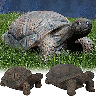 Sunnydaze Tortoise Statue Collection