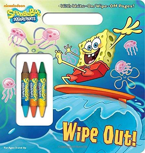 Read Online Wipe Out! (SpongeBob SquarePants) (Write-On/Wipe-Off Activity Book) PDF