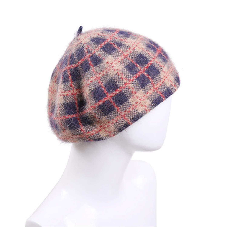 Shuo lan hu wai wai hu Sombrero Caída Cálido Mantener Gorro de Punto Moda para el oído Protección para el oído Gorra de Campana (Color : B, Size : M) 1a00a5