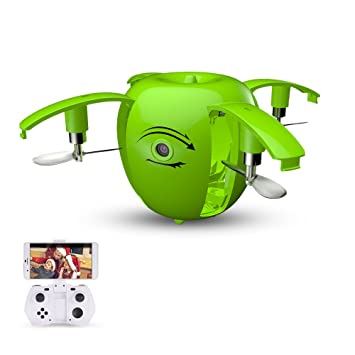 Goolsky RC LEADING RC130W 0.3MP Cámara Wifi FPV Apple Drone Altura Hold Plegable Selfie G