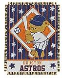 "MLB Houston Astros Original Woven Jacquard Baby Throw, 36"" x 46"""