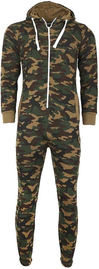 Hamishkane New Kids Unisex Hooded Aztec Print All in One Fleece Zip Up Jumpsuit Playsuit