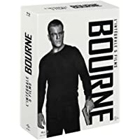 Jason Bourne - L'intégrale : La mémoire dans la peau + La mort dans la peau + La vengeance dans la peau + Jason Bourne : L'héritage [Blu-ray]