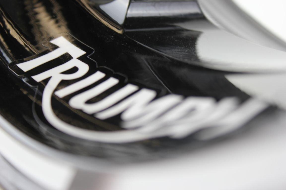 Liserets de Jantes SpecialGP Moto Triumph Blanche Autocollants