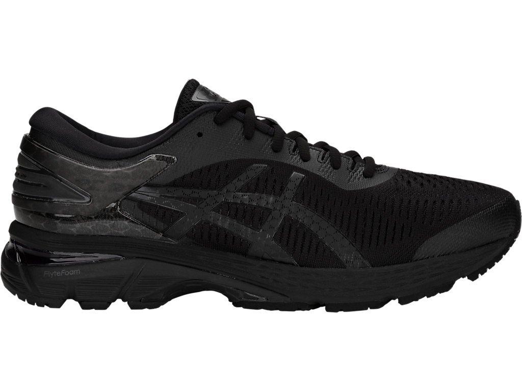 ASICS Gel-Kayano 25 Men's Running Shoe, Black/Black, 7 D(M) US by ASICS (Image #1)