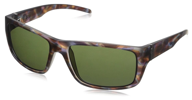 105b8e7cae Amazon.com  Electric Visual Sixer Mason Tiger Grey Sunglasses  Clothing