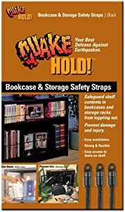 Quakehold! 5040 Bookcase and Storage Strap