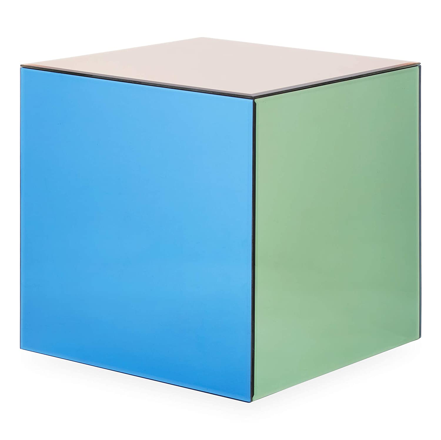 Now House by Jonathan Adler Chroma Cube Accent Table Multicolor 28192