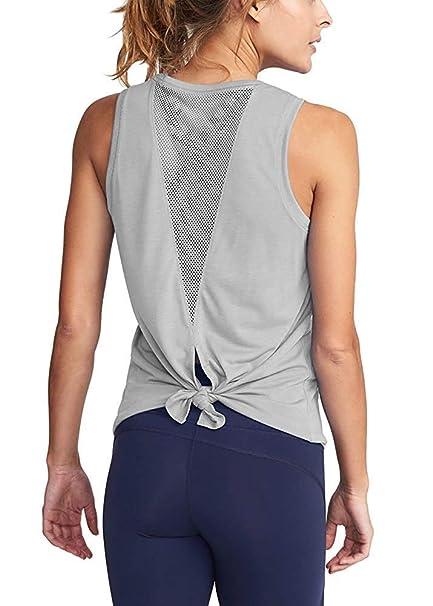 Amazon.com: HDLTE - Camisas de entrenamiento para mujer con ...