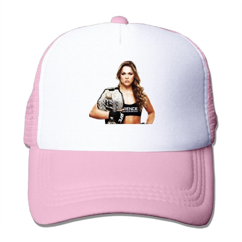 Ronda Rousey Ufc Mesh Hat Unisex Baseball Caps Adjustable Snapback One Size