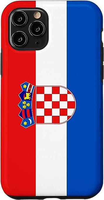 Amazon.com: iPhone 11 Pro Croatia Croatian National Flag Case