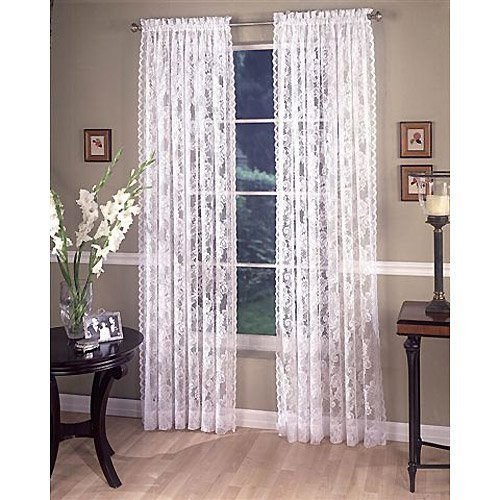 Linen Lorraine Home Fashions: LORRAINE HOME FASHIONS Monaco Super Wide Tailored Window