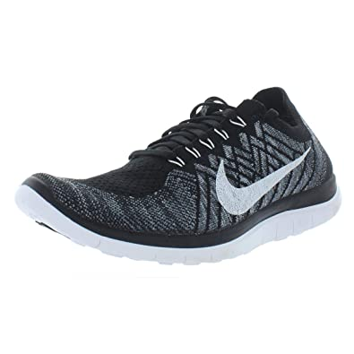 low priced 257b7 854db Amazon.com | Nike Free 4.0 Flyknit Women's Running Shoes, 12 ...