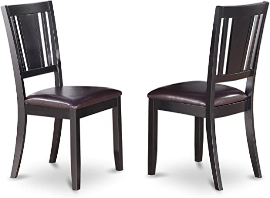 East West Furniture Dudley dining chair set