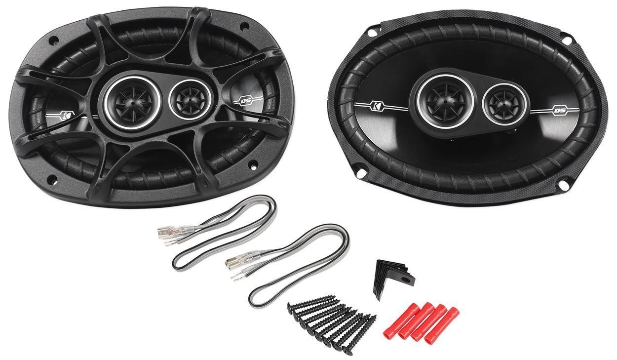 Kicker 2 41DSC6934 New Kicker D-Series, 3-Way Car Audio Coaxial Speakers, 360 Watt
