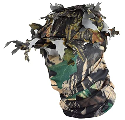 43b6bf4e518 JFFCESTORE Military Boonie Hats Waterproof 3D Leaves Camo mask Tactical Cap  Bucket Hats for Hunting