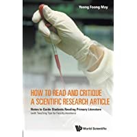 How To Read And Critique A Scientific Research Article: Notes To Guide Students Reading Primary Literature (With…