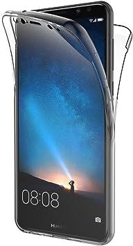 AICEK Funda Huawei Mate 10 Lite, Transparente Silicona 360°Full Body Fundas para Huawei Mate 10 Lite Carcasa Silicona Funda Case (5,9 Pulgadas): Amazon.es: Electrónica