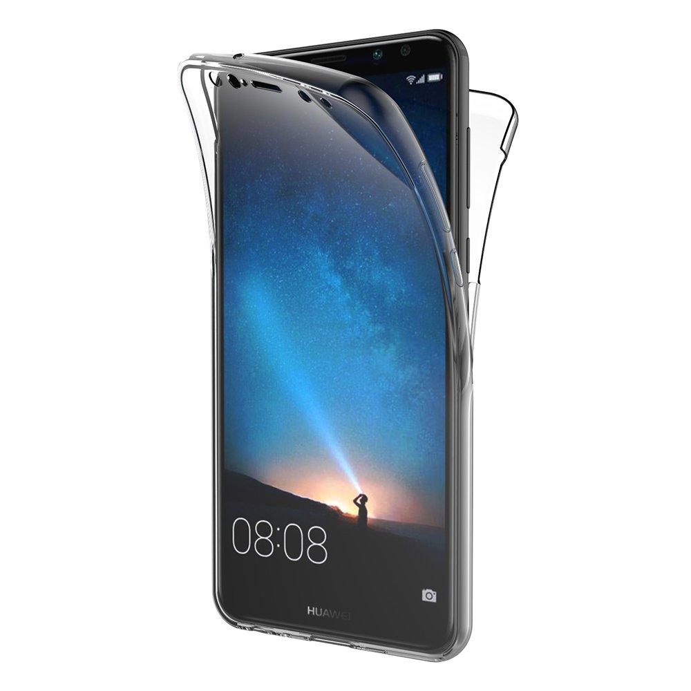 Funda Huawei Mate 10 Lite, AICEK 360 Mate de cuerpo entero Mate Funda 10 Lite de silicona Funda TPU suave y transparente Transparente para Huawei Mate 10 Lite (5.9 pulgadas)