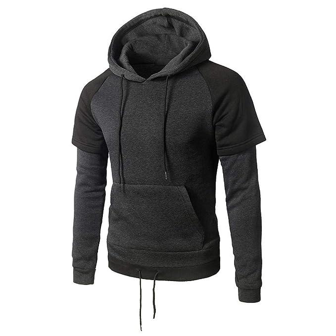 ZODOF Sudadera con Capucha Sudadera con Capucha de Hombre Outwear Sweater Sudadera con Capucha de Abrigo Warm Coat: Amazon.es: Ropa y accesorios