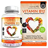 Vitamin B12 1000 mcg Methylcobalamin 180 Time Release Pearls | Contributes to the normal function of the immune system, red blood cell formation & reduction of tiredness and fatigu