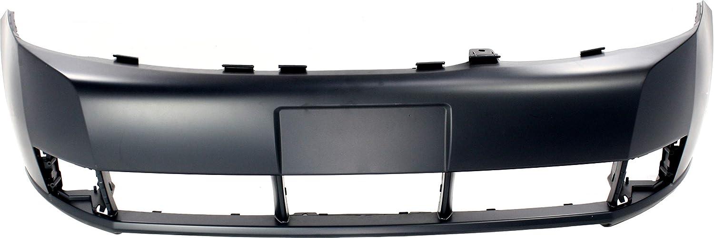 Front Bumper Cover Compatible with 2008-2011 Ford Focus Primed Sedan (10-11 S/SE/SEL Models)