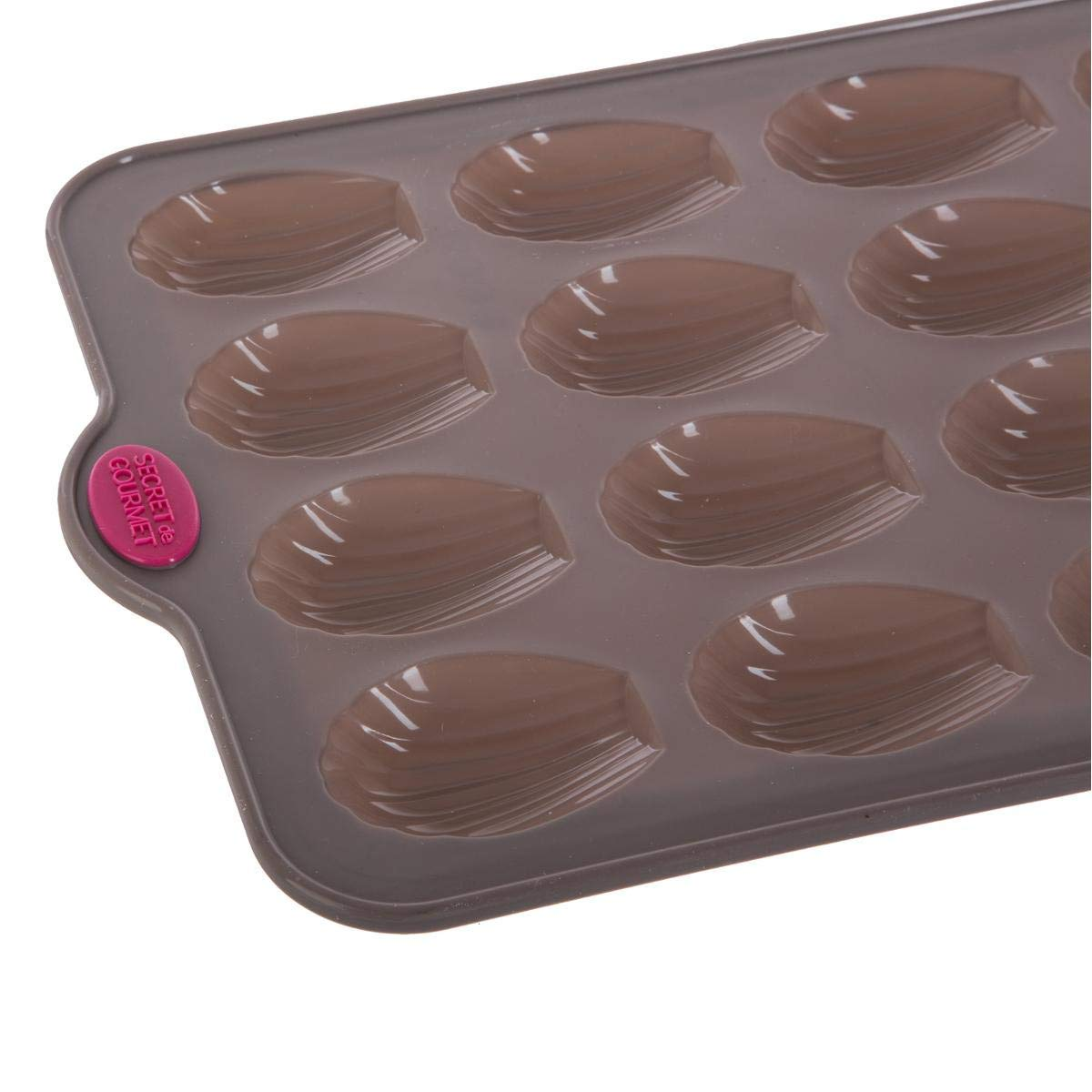 Secret de Gourmet Moule en silicone 16 madeleines
