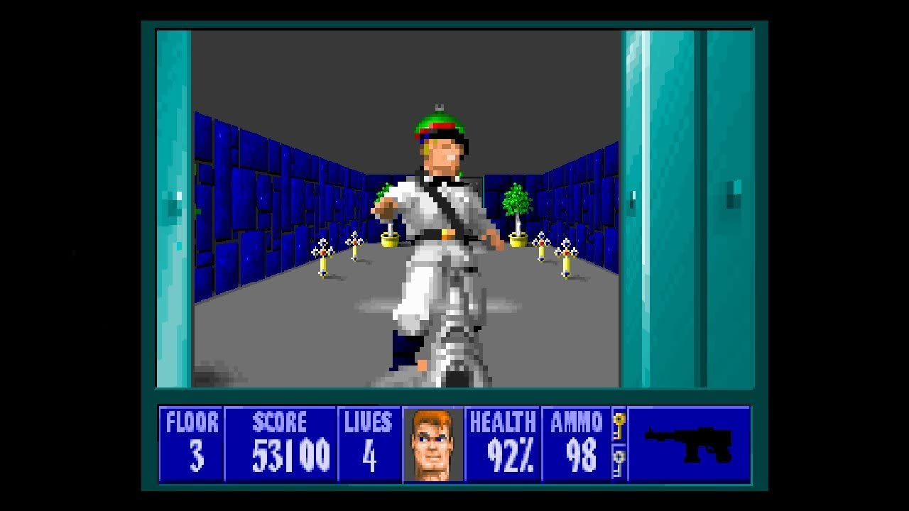Amazon Com Wolfenstein 3d Jewel Case Pc Video Games