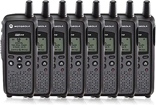Motorola DTR-410 Digital On-Site Two-Way Radio 8 Pack