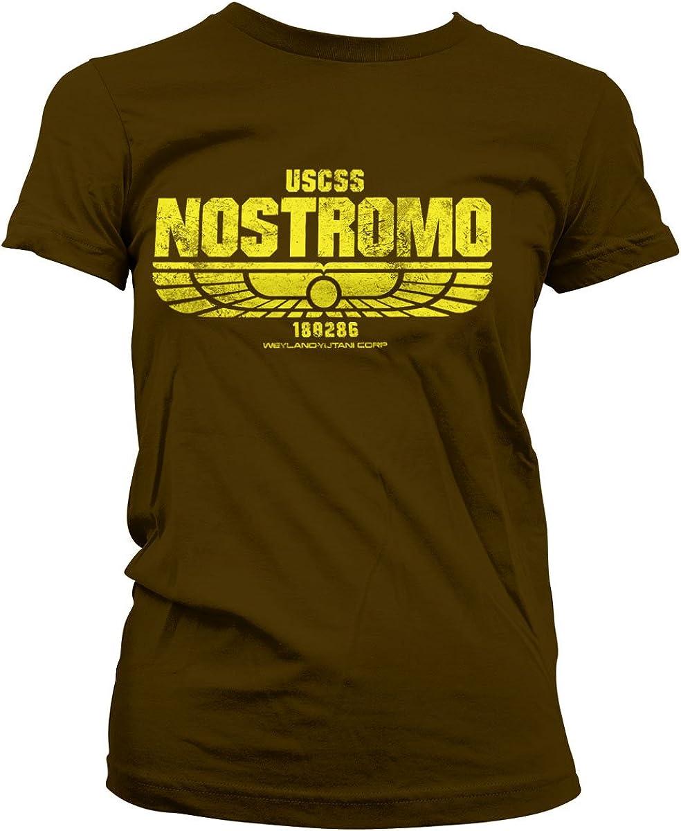 Alien Movie NOSTROMO Licensed Adult T-Shirt All Sizes