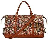 BAOSHA OVERSIZED HB-14 Travel Duffel Bag Carry on Weekender Overnight Bag For Women (Multicolour) Review
