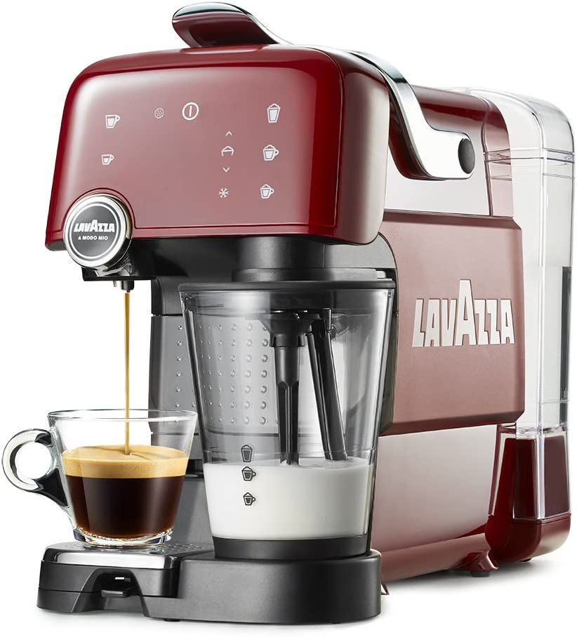 Lavazza máquina Café Fantasia, 1200 W Rubin Red: Amazon.es: Hogar