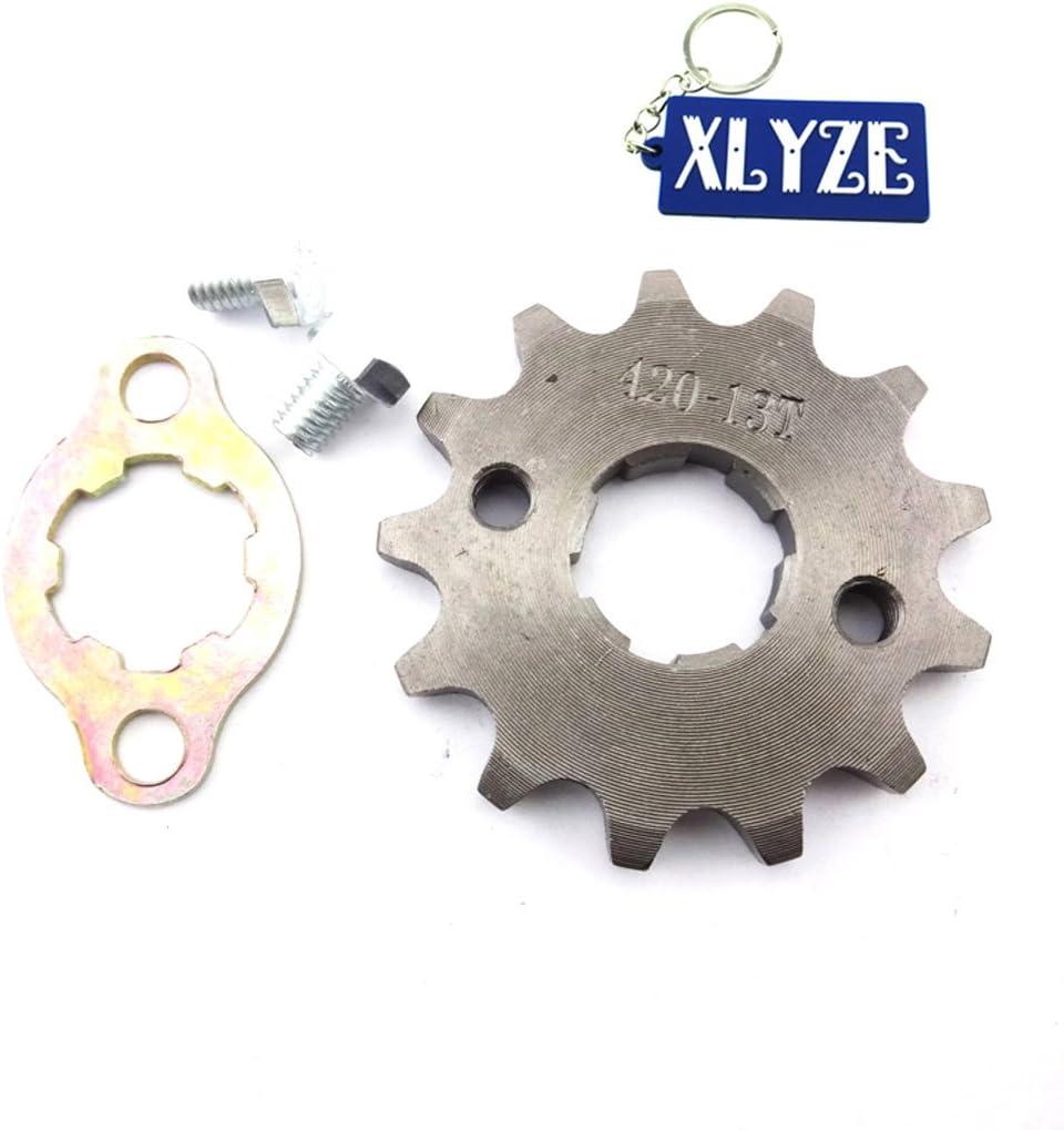 XLYZE 420 13 dientes 20mm engranaje de la rueda del motor delantero Gear para chino 50cc 125cc 160cc ATV Quad Pit Dirt mono bicicleta Kazuma YCF