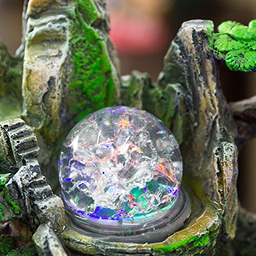 Wedding gift lucky rockery bonsai water fountain humidifier tables home decor by ZEM-PXD