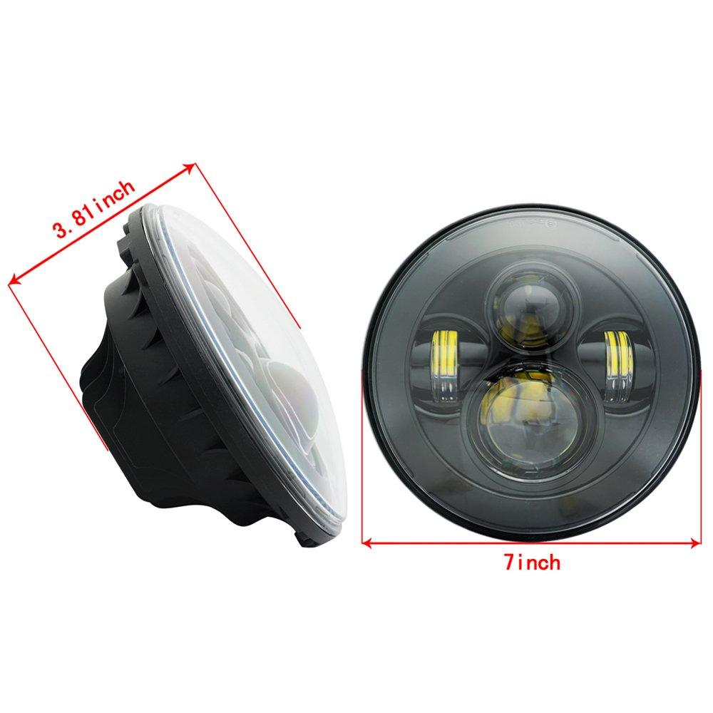 10W CREE LED spot del fascio luci di azionamento del lavoro lampade spot Offroad luci di nebbia 12V per motociclo Truvk ATV ATV SUV Blat JK faro 10W Round Spotlight pacchetto di 2