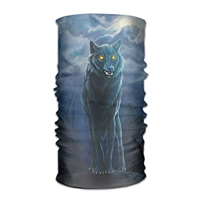 Wolf Paint Images DIY Printed Headband Bandana Mask Sports Seamless Breathable Hair Band Turban For Workout, Fitness, Running, Cycling, Yoga